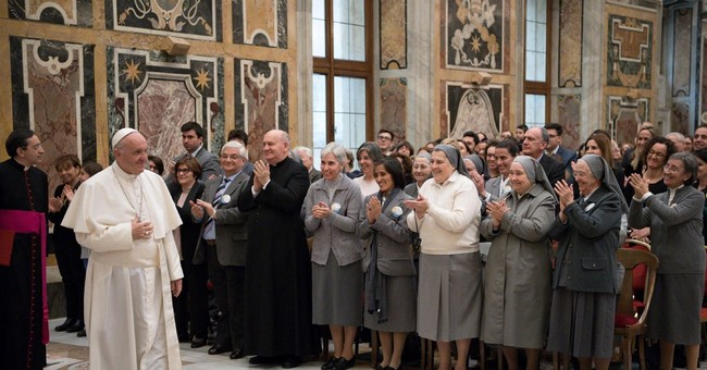 Pope urges nuclear disarmament, climate-change solutions
