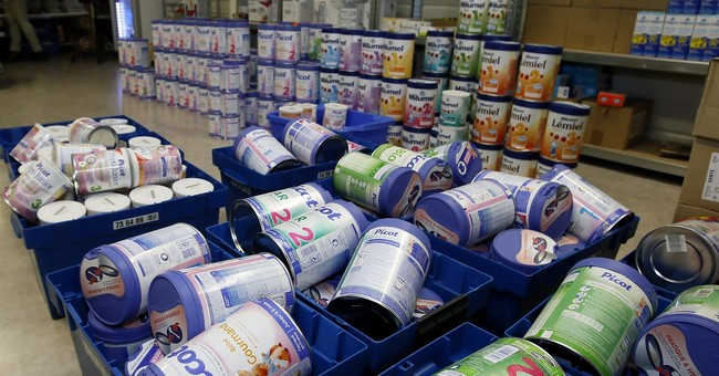 Baby formula maker calls global recall over salmonella fears