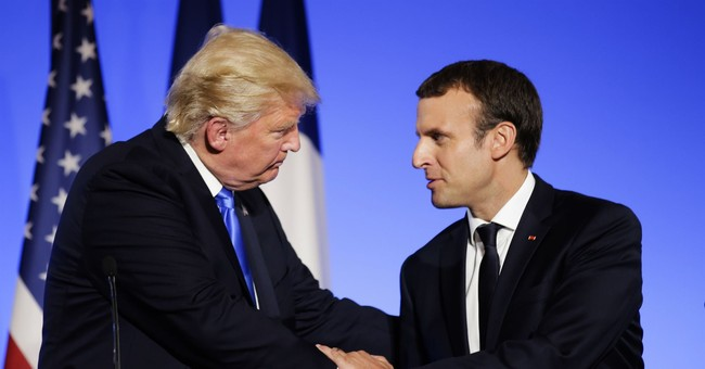 Paris hosts major climate summit _ and it's all about Trump