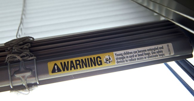 Deaths from window blinds show need for cord ban, study says