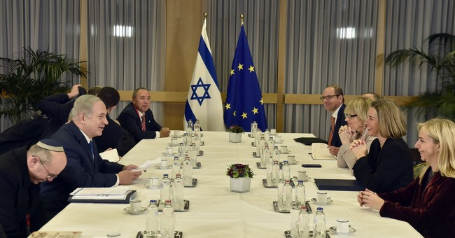 Israel urges EU to back US Mideast peace moves
