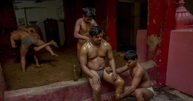 Ancient wrestling offers a future for some in modern India