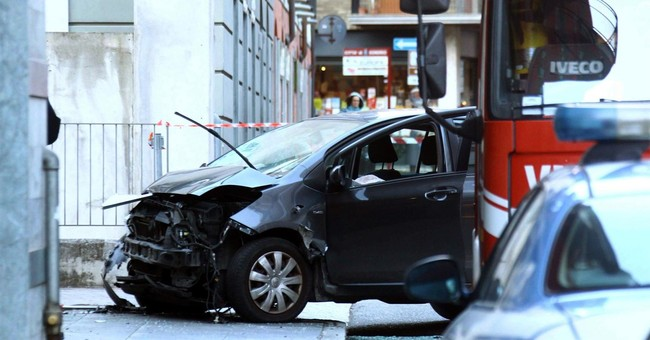Reports: Man who hit pedestrians in Italy aimed to kill