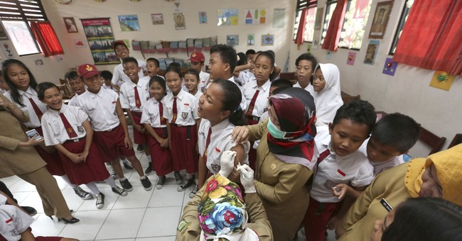 Diphtheria deaths in Indonesia spark immunization campaign