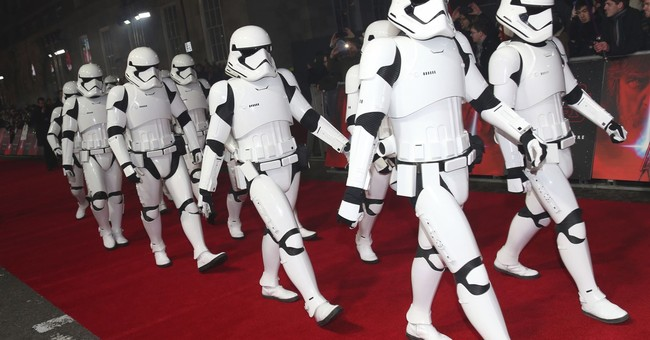 Stormtroopers and princes on London's 'Last Jedi' red carpet