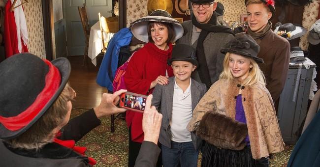 Christmas in Ohio: Nutcrackers, Victorian village, Nativity