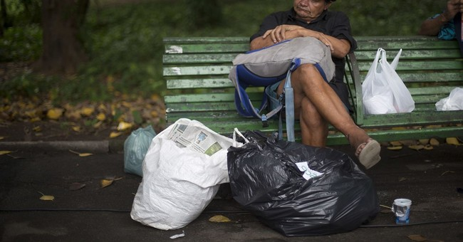 Homeless in Rio skyrockets, creating tensions, violence