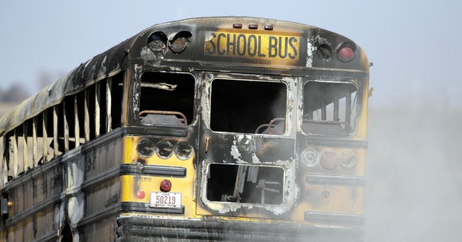 Authorities: 2 dead after school bus fire in western Iowa