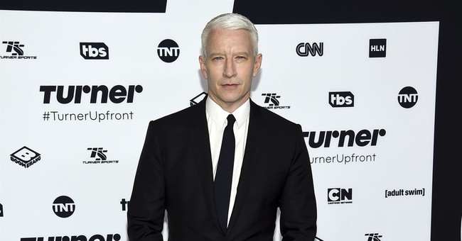 CNN says Anderson Cooper's Twitter account apparently hacked