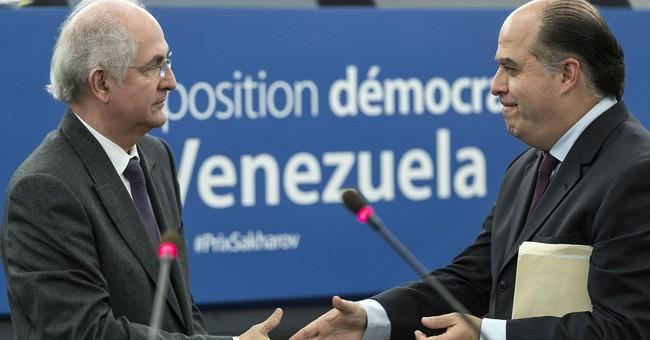 Venezuela's opposition, prisoners win EU human rights award