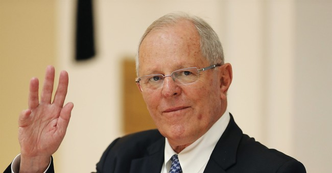 Peru's president is in trouble over Odebrecht payments