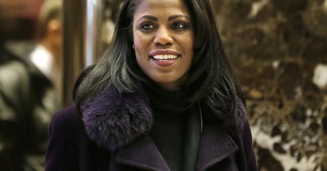 The Latest: Omarosa: Trump's senior staff has no blacks left