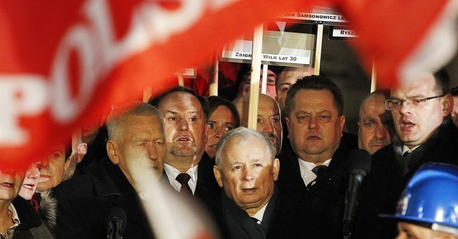 Poland's new PM marks anniversary of 1981 martial law