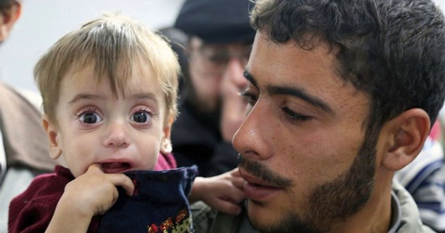 Hunger at Damascus' door as Syrian government blocks aid