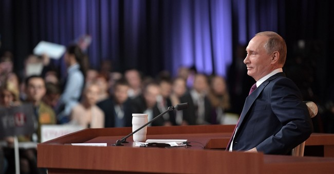 The Latest: Putin says opposition must have positive program