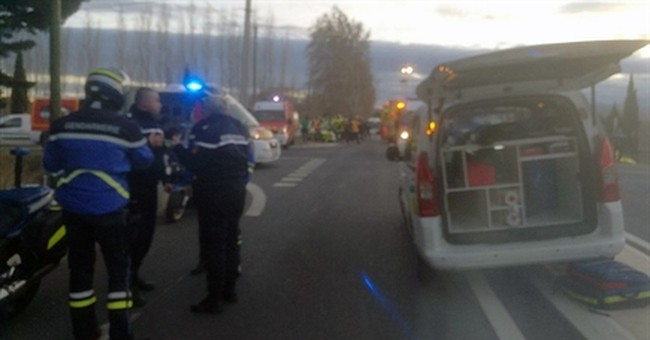 School bus driver in custody after train accident in France