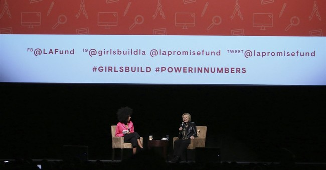 Sex misconduct on girls' minds at summit featuring Clinton
