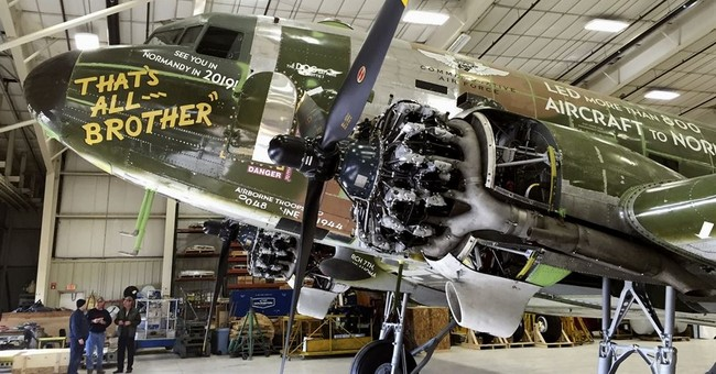Plane that led Normandy invasion discovered, restored