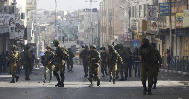 Correction: Israel-Palestinians story