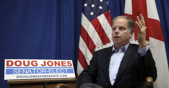 Jones: Don't expect him to always side with Senate Democrats