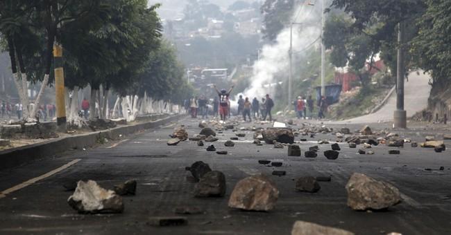 Opposition blocks highways after Honduras presidential vote
