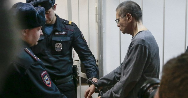 Ex-Russian minister jailed for 8 years in sting case