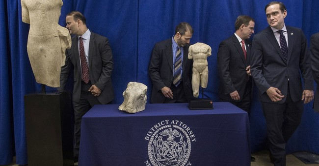 Manhattan prosecutor returns 3 ancient sculptures to Lebanon