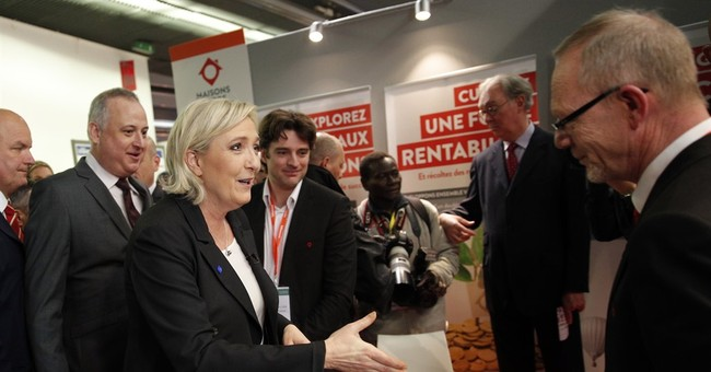 """French far-right candidate Le Pen's plan: """"Made in France"""""""