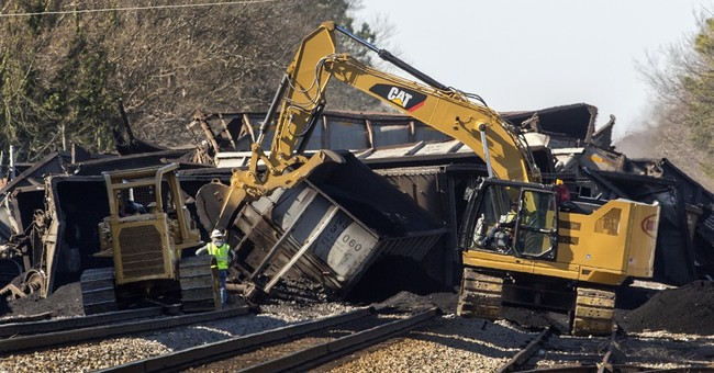 No injuries reported in train derailment in Virginia