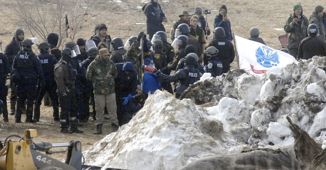 More than $600,000 spent on police gear for pipeline protest