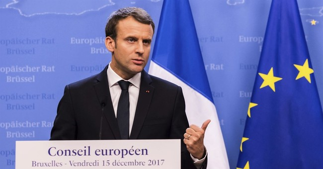 Macron: Talk to Assad now, he will answer for crimes later