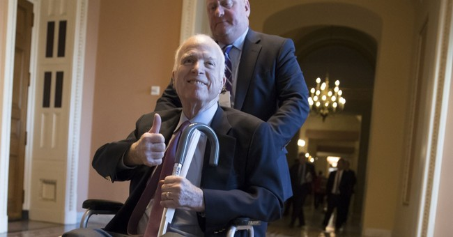 Sen. John McCain will return to Arizona, miss vote on tax bill