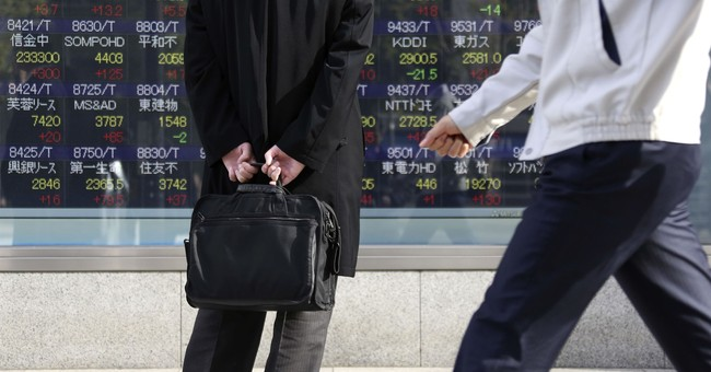 Asian markets mostly higher on upbeat Japan trade data