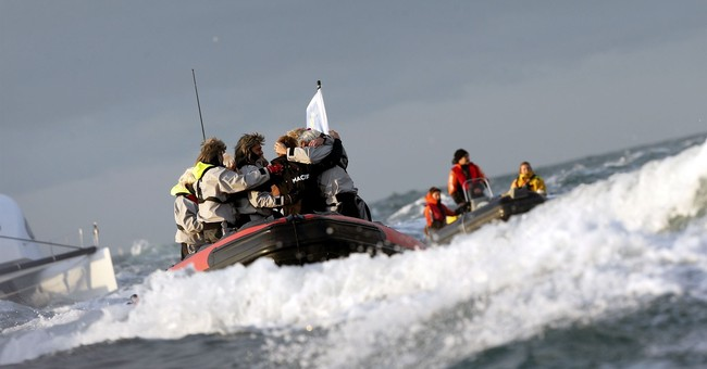 French sailor Gabart sets new solo round-the-world record