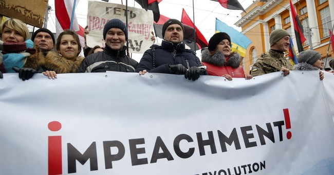 Saakashvili's supporters rally in Ukrainian capital