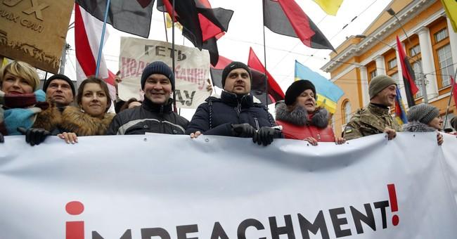 Saakashvili's supporters rally in Ukrainian capital