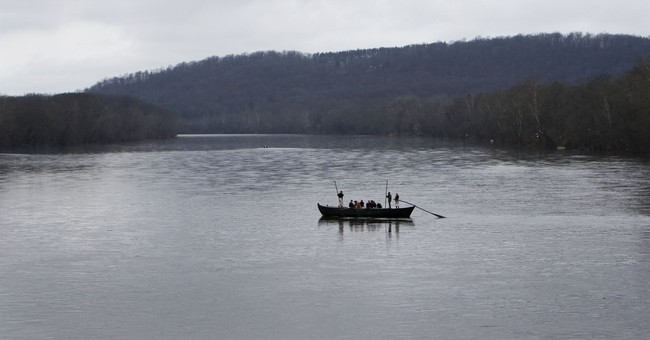Low levels in Delaware River could keep re-enactors on land