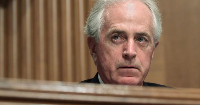 GOP senators rally to defend Corker over tax bill provision