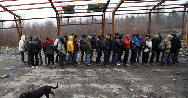 Hundreds of migrants out in open along Serbia's EU borders