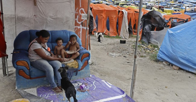 Mass occupation underscores Brazil's poverty, creates angst