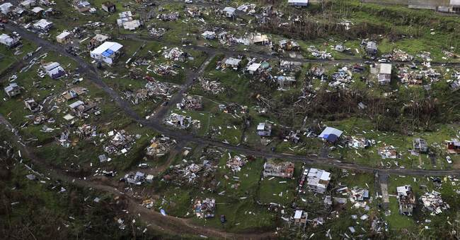 2 top US officials pledge more help for Puerto Rico