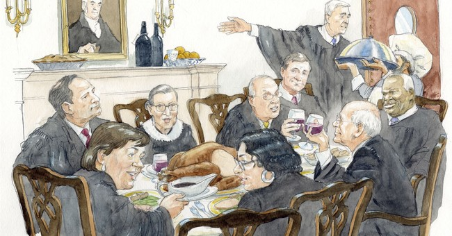 New Supreme Court cookbook dishes up history, recipes