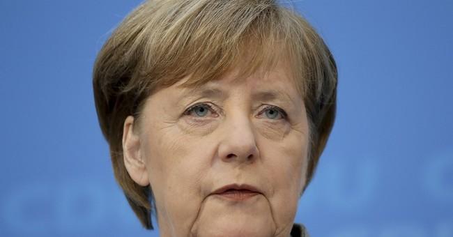 Merkel focused on grand coalition with Social Democrats