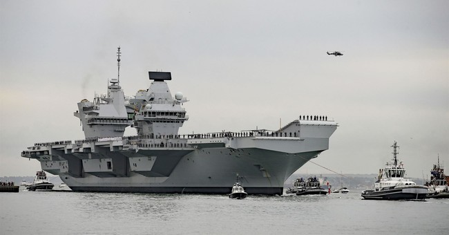 UK's newest, most expensive aircraft carrier needs repair