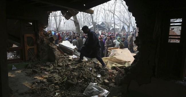 2 anti-India rebels, woman killed during Kashmir fighting