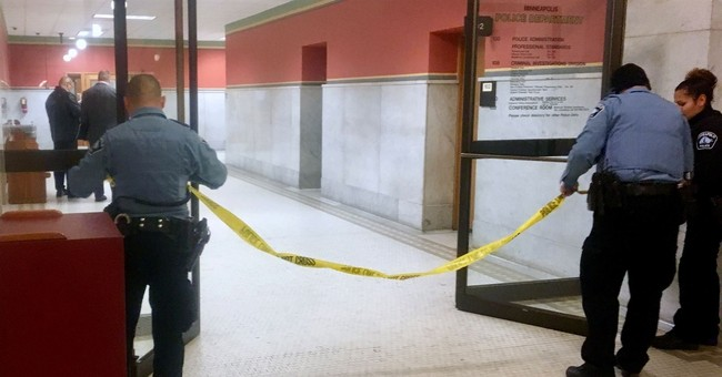 Police: Man who pulled weapon while in interview room shot