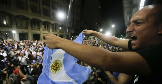 Argentina leader defends pension reform approved in Congress