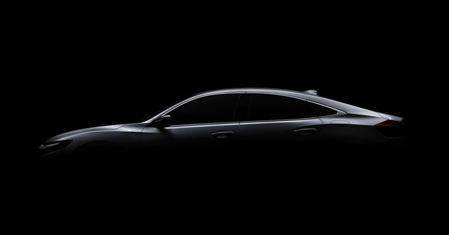 Honda to unveil new compact gas-electric hybrid sedan