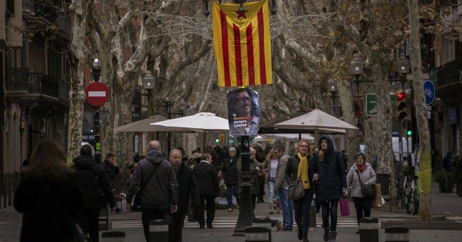 Timeline of recent events leading up Catalonia's elections