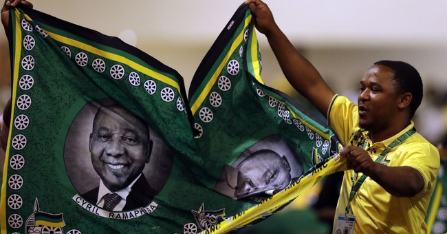 South Africa's ANC leader vows to fight graft in 'own ranks'